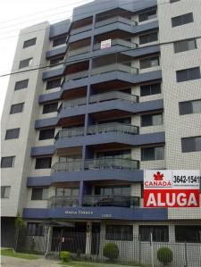 apartamentos em condominio para alugar em araucaria centro